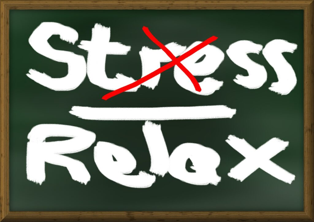 stress, relaxation, board